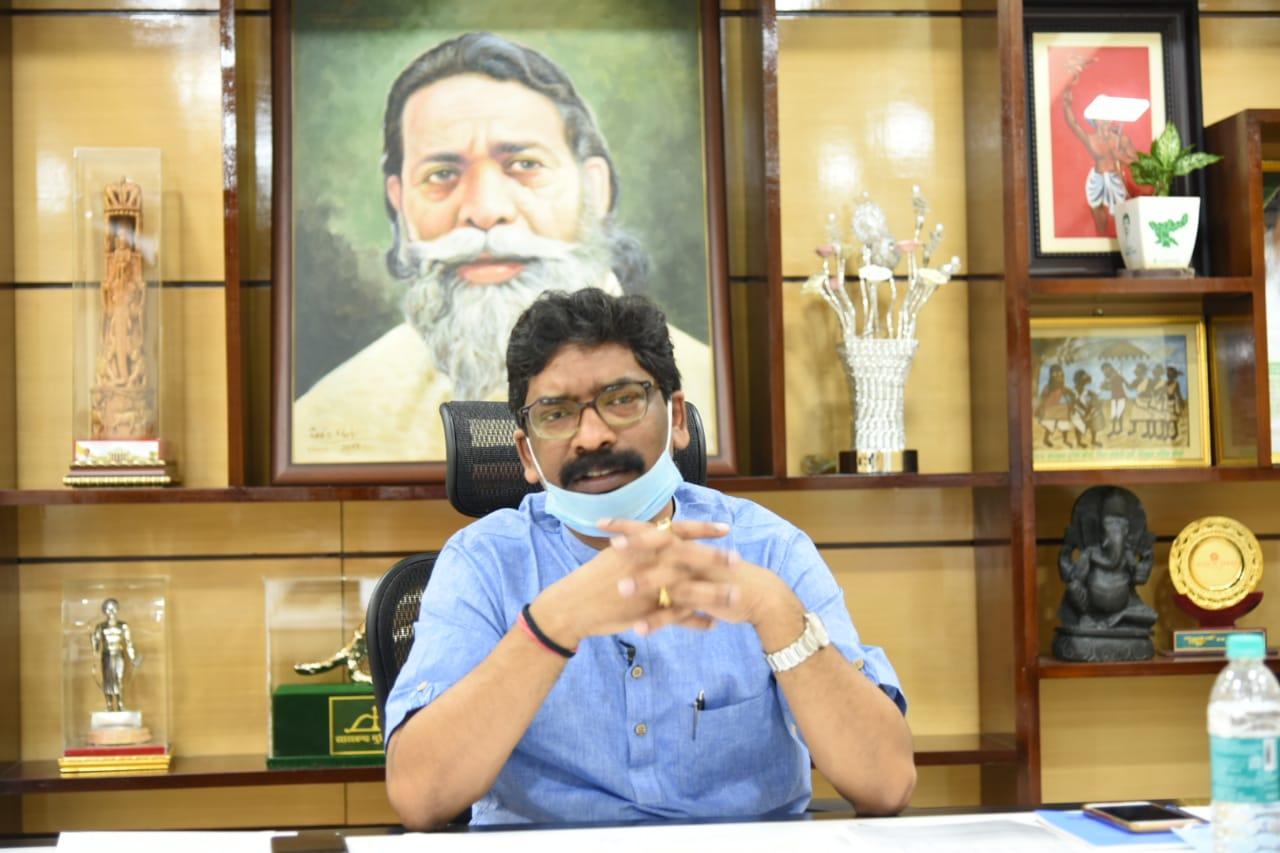 सोनिया गांधी के मुख्यमंत्रियों की वीडियो कॉन्फ्रेंसिंग में हेमन्त सोरेन ने बेबाक तरीके से रखी अपनी बातें
