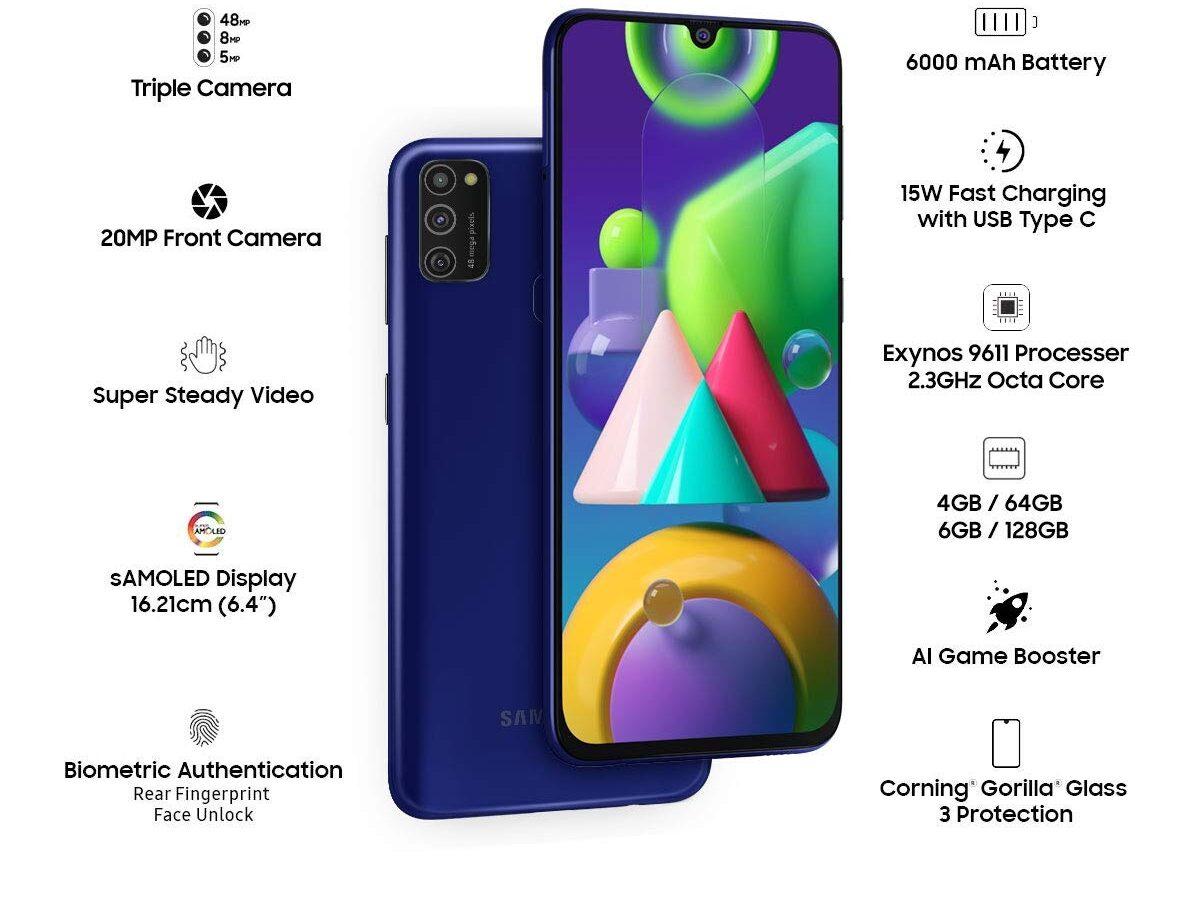 Samsung M21 details edited