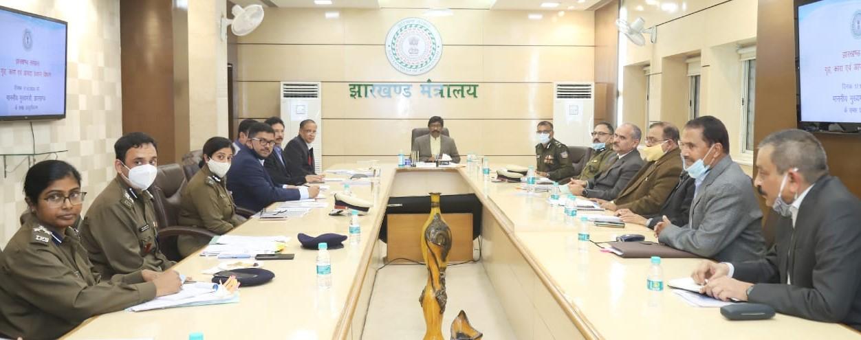 स्कूल कॉलेज में पढ़ने वाले विद्यार्थियों को कम्युनिटी पुलिसिंग की ट्रेनिंग दी जाएगी: मुख्यमंत्री श्री हेमंत सोरेन