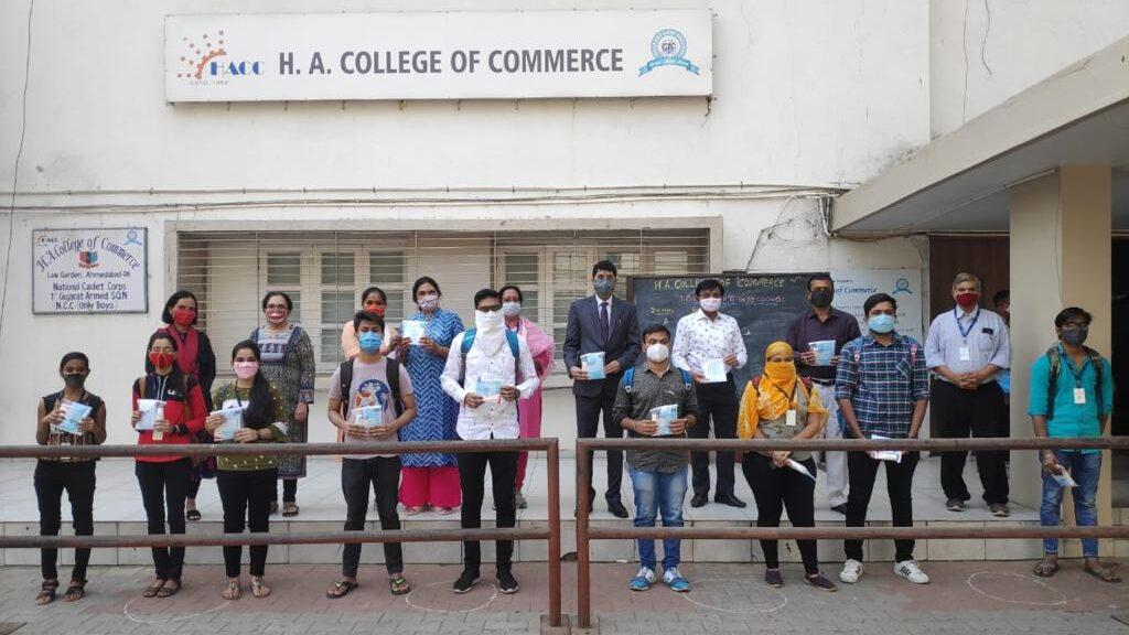 જી.એલ.એસ. સંચાલિત વિવિધ કોલેજોના વિદ્યાર્થીઓ મોટી સંખ્યામાં હાજર રહ્યા