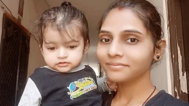 Sucide: मां ने डेढ साल की बच्ची की हत्या कर फांसी लगाई, दोनों की मौत
