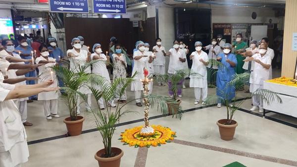 WR Nurses day: पश्चिम रेलवे पर अन्तरराष्ट्रीय नर्स दिवस मनाया गया