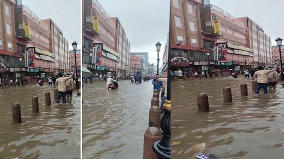 Varanasi rain: प्रधानमंत्री का संसदीय क्षेत्र पहली बारिश में ही हुआ जलमग्न