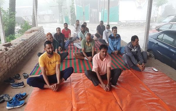 international yoga day: माउंट आबू में 7 वे अंतर्राष्ट्रीय योग दिवस का हुआ आयोजन