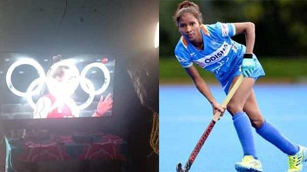 Salima Tete: मुख्यमंत्री के निर्देश पर ओलंपियन सलीमा टेटे के घर लगा स्मार्ट टीवी