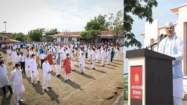 Mahatma Gandhi International Hindi University: हमारा संकल्प ही भारत की समृद्धि का साधन है: कुलपति प्रो. रजनीश कुमार शुक्ल
