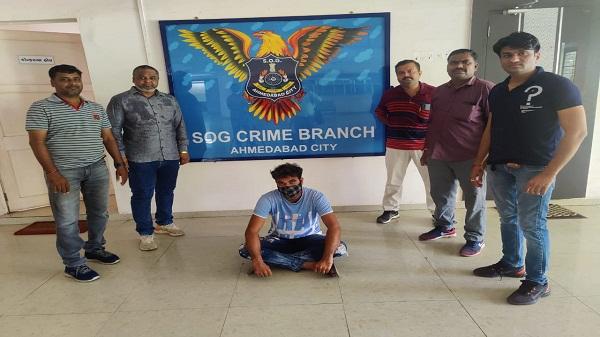 A youth arrested with ganja: राणीप में 16 किलो गांजे के साथ एक युवक गिरफ्तार