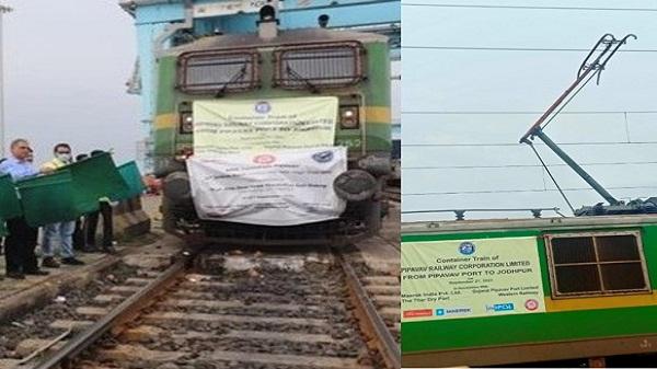Western railway: पश्चिम रेलवे ने पीपावाव पोर्ट को हाई राइज ओएचई से जुड़ा पहला भारतीय पोर्ट बनकर रचा नया इतिहास