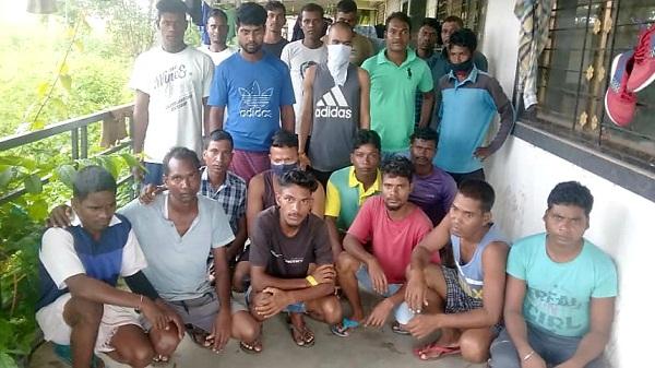 Workers of jharkhand: महाराष्ट्र के रायगढ़ से वापस लौटे झारखंड के 23 श्रमिक