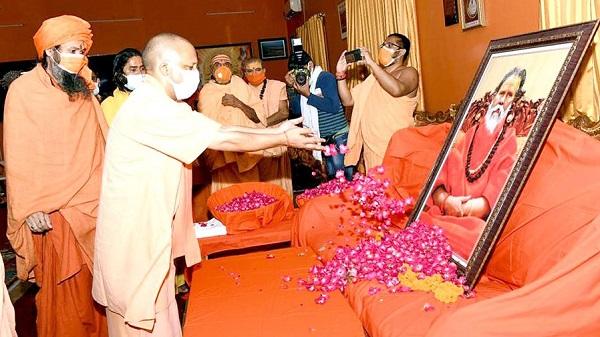 CM Yogi on mahant giri case: महंत नरेंद्र गिरि की मृत्यु पर क्या बोले सीएम योगी