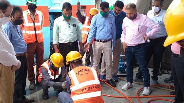 Safety audit inspection: वड़ोदरा-केवड़िया रेल खंड का इंटर ज़ोनल रेलवे टीम द्वारा सेफ़्टी ऑडिट निरीक्षण