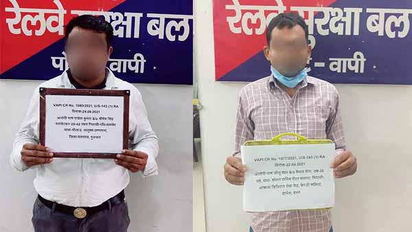 Unauthorised railway ticket: पश्चिम रेलवे की आरपीएफ टीम ने वापी और सिलवासा में अनधिकृत रेलवे टिकट दलालों पर कसा शिकंजा